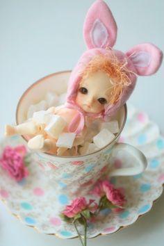 tea bunny #dolls
