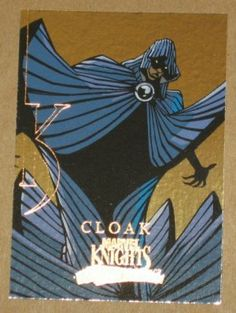 Marvel Masterpieces Set 3 (UDC 2008) Knights Chase Card MK 3 Cloak EX