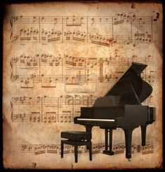 Photo about Ancient music sheet, rusted old yellow paper with piano. Image of antique, paper, instrument - 2127414 Piano Music, Sheet Music, Piano Sheet, Suite Bergamasque, Musik Wallpaper, Music Notes Background, Claude Debussy, Ancient Music, Raindrops And Roses
