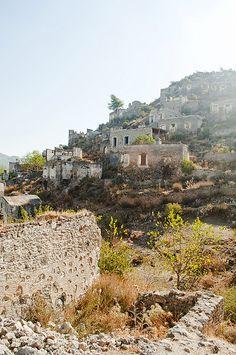 Kayakoy, Turkey (abadoned since 1923)