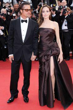 Brad Pitt & Angelina Jolie sur le tapis rouge