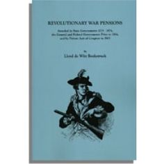 Revolutionary War Pensions by Lloyd Bockstruck. This book brings together for the first time all the data from federal and state sources used to reconstruct Revolutionary War pension records.