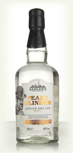 A full-bodied gin named after the Peaky Blinders, a street gang from the late 19th/early 20th Century (a popular TV show was based on the gang recently, with the chap from that not-zombie movie playing the starring role). A particularly punchy expression. Yes, pun intended.