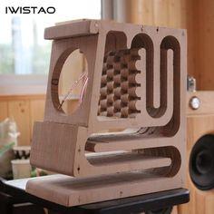 IWISTAO HIFI Empty Speaker Cabinet Kits Labyrinth Structure High-density Fibreboard for Full Range - Speakers & Speaker Systems - Best Buy Wooden Speakers, Diy Speakers, Built In Speakers, Wireless Speakers, Subwoofer Box Design, Speaker Box Design, Wooden Cabinets, Diy Cabinets, Speaker Plans