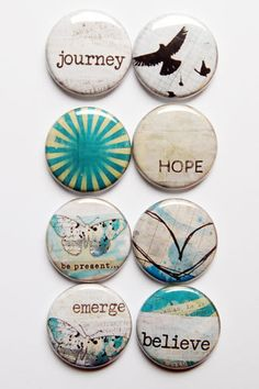 Lovely Words 4 by aflairforbuttons on Etsy, $6.00  #flair #aflairforbuttons #flairbuttons