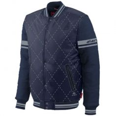 Smart Blue Varsity Jacket