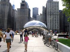 In 2011, I visited 'the Bean,' the infamous Millennium Park sculpture of Chicago. But it's real name? 'Cloud Gate,' dubbed so by its British creator Anish Kapoor. This is a photo journal of its construction.