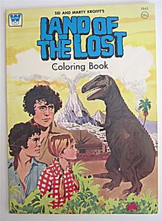 Whitman Land Of The Lost Coloring Book 1975