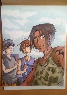 Lauranzo , Roy et un ami