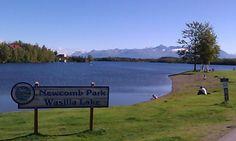 Beautiful day at Harolds park...Wasilla, Alaska