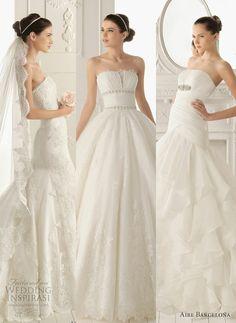 Aire Barcelona      http://weddinginspirasi.com/2012/06/14/aire-barcelona-2013-wedding-dresses/
