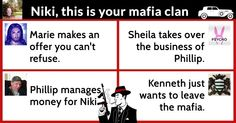What does your mafia clan look like?