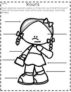 ruby bridges coloring page - ruby bridges paper bag puppet from melissas corner on
