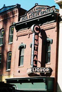 A nice vintage sign