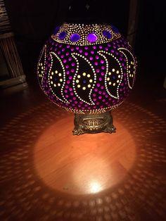 lámparas de calabaza calabaza hecha a mano 100% artesanal