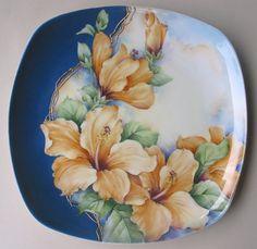 Pottery Painting, Ceramic Painting, China Painting, Fabric Painting, Mason Jar Art, Decoupage Plates, Korean Painting, Vintage Botanical Prints, Ceramics Projects