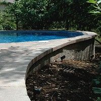 Ultimate Above Ground Swimming Pool Backyard Pool Landscaping, Swimming Pools Backyard, Swimming Pool Designs, Pool Decks, Semi Above Ground Pool, Above Ground Swimming Pools, In Ground Pools, Pool Picture, Backyard Paradise