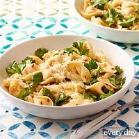 RR cheese tortellini with herbs and garlic