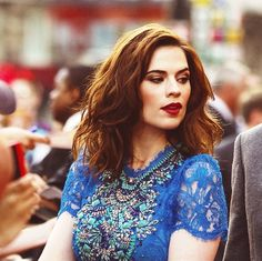 Hayley Atwell - Gives me fever all thru the night