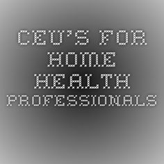 How do you get free CEUs as a physical, occupational or speech therapist?