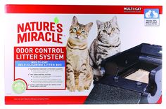 Nature's Miracle Nature's Miracle Multi-Cat Self-Cleaning Litter Box (NMA980) -- New and awesome cat product awaits you, Read it now  : Cat litter