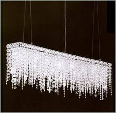 Why wouldn't my dining room by dripping in crystal?? ;)