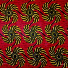 Kinetic African Print Fabric
