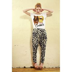 Fashion Autumn Dots Mid Waist Casual Pants only $54.99 at http://www.wendybox.com/goods-4455-Fashion+Autumn+Dots+Mid+Waist+Casual+Pants.html