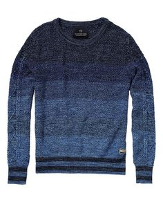 Crew Neck Pullover - Scotch