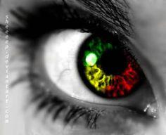 The eyes of a Rastafarian Bob Marley, Damian Marley, Calypso Music, Rasta Man, Jah Rastafari, New Soul, Soul Shine, Photos Of Eyes, Reggae Music