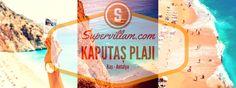 Kaputaş Plajı | Kaş Tatili | Kaşta Gezilecek Yerler | Kaputas Beach | http://www.supervillam.com