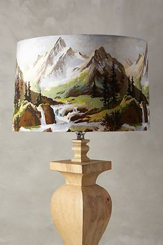 Northern Frontier Lampshade - anthropologie.com #anthrofave