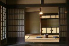 Japanese style interior design - simplicity and functionality