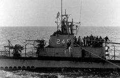 USS Cobia (SS-245) Gato-class US Navy submarine. (google.image) 6.17 #54B