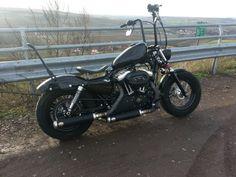 hope you enjoy the cafe racer inspiration. Cafe Racer Style, Bike Style, Biker Gear, Motorcycle Gear, Harley Davidson Trike, Custom Sportster, Harley Bikes, Bobber Chopper, Vintage Motorcycles