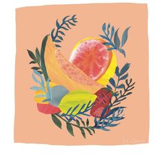 . Paper Cutting, Mixed Fruit, Illustration, Rooster, Painting, Instagram, Animals, Animales, Animaux