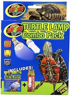 ... Lights decor Fish Tank aquatic Combo Pack Turtle heat Lamp #ZooMed
