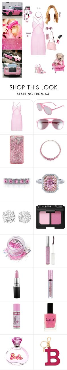 """In A Barbie World"" by blackmagicmomma ❤ liked on Polyvore featuring Katie Price, Misbehave, Sophia Webster, Wildfox, ban.do, Betteridge, NARS Cosmetics, In Your Dreams, Forever 21 and MAC Cosmetics"