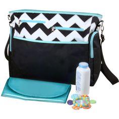iPack Diaper Bag, Chevron. For my future boy.
