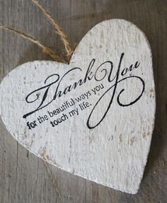 Thanking you deeply for the beautiful ways you touch my life ♥♥ #Marriage