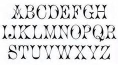 Fonts Alphabet Letters - Bing Images