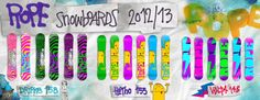 21Rope Snowboards 2012/2013 #21Rope #Snowboard
