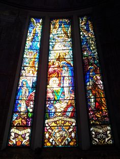 Mysteries of the Rosary in the St. Blaise church, Vichy