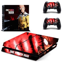 >> Click to Buy << Anime One Punch Man PS4 Skin Sticker Decal Vinyl For Sony PS4 PlayStation 4 Console and 2 Controller Stickers #Affiliate