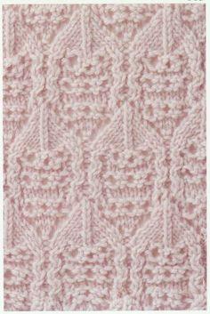 Lace Knitting Stitch #21