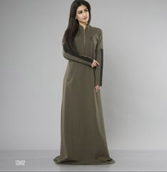 Sporty dress from Elitar fashion. Suitable as sporty and casual wear. Fabric: two threaded cloth Size: S, M, L Colour: Olive green Olive Green, Casual Wear, Duster Coat, Sporty, Zipper, How To Wear, Jackets, Clothes, Color
