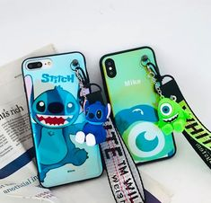 Donald Duck Daisy-Mickey and Minnie Mouse-Hello Kitty-Winnie The Poo-Stich-Cony-Pig iPhone Case Disney Cartoons, Disney Cartoon Characters, Cartoon Toys, Disney Pixar, Iphone Cases Disney, Iphone Phone Cases, Cute Cases, Cute Phone Cases, Disney Collection