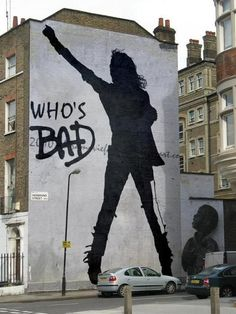 Street Art. #MJ Ultimate street art. Michael Jackson mural