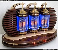 Steampunk Nixie Vacum Tube Alarm Clock