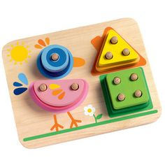 1-2-3-4 Bird Puzzle Game from Djeco